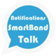 Logo Notifications SmartBand Talk