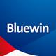 Logo Bluewin app