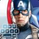 Logo Captain America: TWS Keyboard