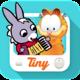 Logo Tiny TV – 100% dessins animés!