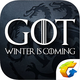 Logo Game of Thrones winter is coming iOS