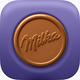 Logo Milka Biscuit Saga iOS