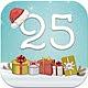 Logo Compte à rebours de Noël iOS
