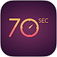 Logo 70 seconds iOS