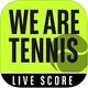 Logo WeAreTennis with BNP Paribas iOS