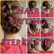 Logo Hair Styling Step By Step