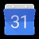 Logo Google Agenda Android