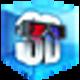 Logo 4Videosoft 3D Convertisseur pour Mac