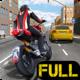 Logo Race the Traffic Moto FULL