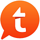 Logo Tapatalk Android