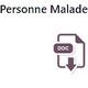 Logo Dépôt de plainte facilité – Covid-19 Personne Malade