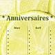 Logo Calendrier d'anniversaires