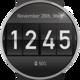 Logo Flip Clock Watch Face