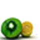 Logo Free Fruits Screensaver