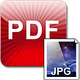 Logo Aiseesoft Mac PDF JPEG Convertisseur
