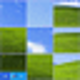 Logo Shuffle Desktop Screensaver
