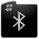 Logo Bluetooth, Transférer Fichiers Android