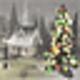 Logo Noel 3D Ecran de Veille