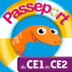Logo Passeport du CE1 au CE2