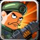 Logo Zombie Guerrier – Cartoon War