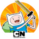 Logo Adventure Time Heroes Android