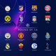 Logo Calendrier de la Ligue des Champions 2018 – 2019(Tirage)