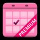 Logo Calendrier Menstruel Premium