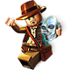 Logo LEGO Indiana Jones 2 : L'aventure Continue – Mac