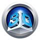 Logo Aiseesoft 3D Convertisseur pour Mac