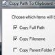 Logo Copy Path To Clipboard