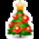 Logo Snowman Garland