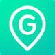 Logo GeoZilla – Géolocaliser Famille et Amis  iOS