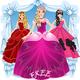 Logo Habillez princesse