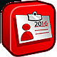Logo PROcontact 2016 : Logiciel simple de gestion Clients / Prospects