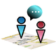 Logo Phone Tracker-IM Map Navigator