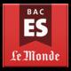Logo Bac ES 2014 – Le Monde