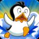 Logo Racing Penguin – Flying Free