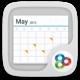 Logo (français) Calendar GOwidget