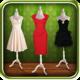 Logo Femmes robe montage photo
