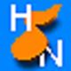 Logo Partition Clé de Sol et Clé de Fa HN