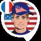 Logo Voix John, l'américain (fra.)