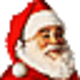 Logo Santa Claus 3D Screensaver