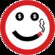 Logo Get Rich or Die Smoking
