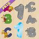 Logo Casse-tête alphabet et petits!