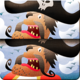 Logo Jeu de différences : pirates