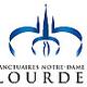 Logo Le sanctuaire de la Grotte de Lourdes en direct