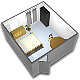 Logo Sweet Home 3D Linux