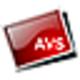 Logo AVS Blobs Screensaver