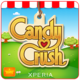 Logo Xperia Theme Candy Crush