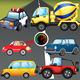 Logo Puzzle pour enfants voitures